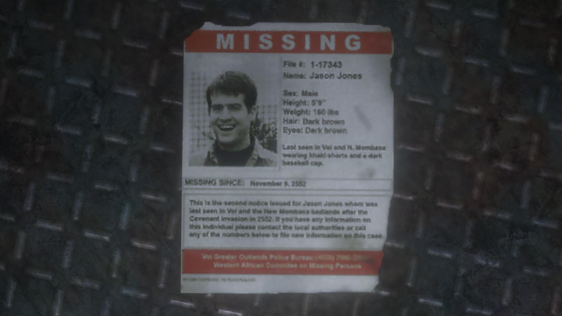 Missing Person Poster | Halo Nation | FANDOM powered by Wikia