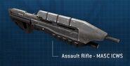 Rifle de Asalto MA5C ICWS
