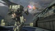 Halo 4 Mantis-Gefecht