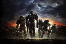 Halo Reach Front Cover