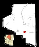 Flagstaff Coconino County AZ Location