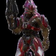 Sangheili Ranger Comandante render H5G
