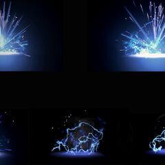 L'effetto che segue l'esplosione di una <b>Granata al Plasma</b>