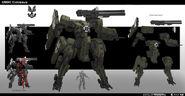 Colossus concepto de arte HW2