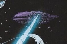 Unidentified Covenant Warship