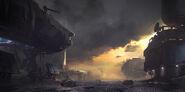 Skirmish at Darkstar ConceptoA-1