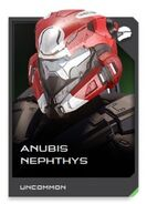 H5G REQ card Anubis Nephthys-Casque