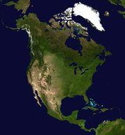 North America satellite