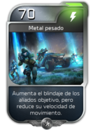 Blitz - UNSC - Sargento Forge - Poder - Metal pesado