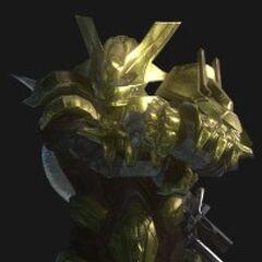 Brute capitano dorato (Halo3)
