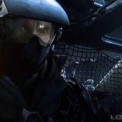 Marine in Halo Wars