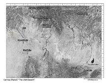 Carrow mapa