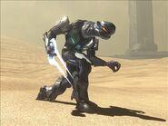 Black Assault Elite on Sandtrap