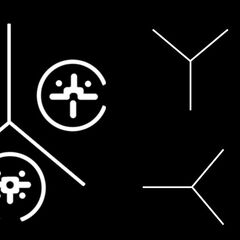 Wenige Beispiele von Symbolen, die, die Huragok in verschiedene Materialien eingravieren, welche meist kurze Geschichten über die Blutsväter erzählen.