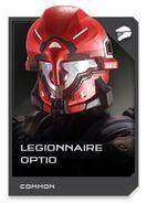 H5G REQ card Casque-Legionnaire Optio