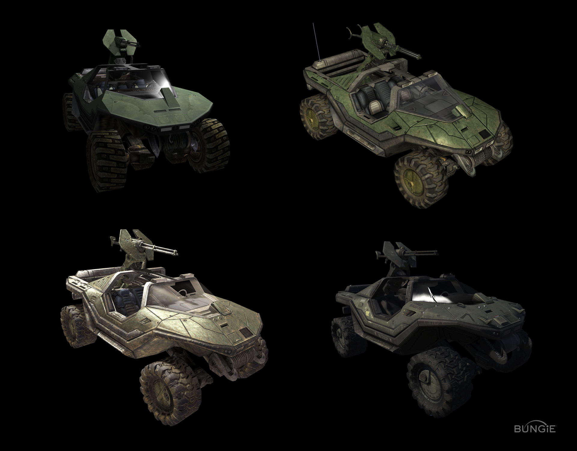 Halo Vehicles 3d Models