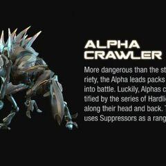 Un Alpha Crawler