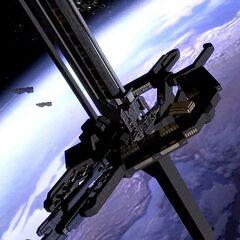 Die stärkste nicht-nuklear Waffe in der gesamten UNSC's, eine Orbitale Verteidigungsplattform könnte ein Allianz Schiff mit nur einen Schuss zerstören.