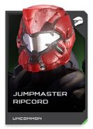H5G REQ card Jumpmaster Ripcord-Casque