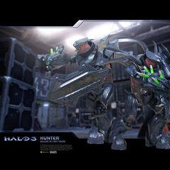 Una coppia di Cacciatori in Halo 3