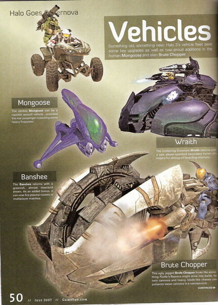 Halo 3 Vehicles