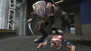 Un Zealot matando a un spartans