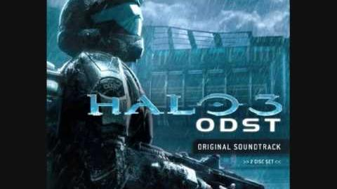 Halo 3 ODST OST Disk 1 - Track 9 - The ONI (The Office of Naval Intelligence)