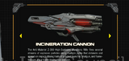 Incinerator Cannon