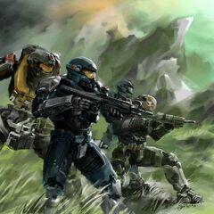 Noble Team (Dopo la morte di Tom prima dell'arivo di Noble Six)
