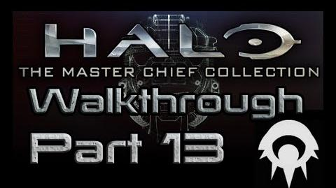 Halo- The Master Chief Collection Walkthrough - Part 13 - Cairo Station