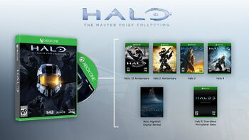 Halo the master chief collection features
