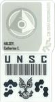 HR LE Halsey Badge
