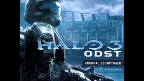 Halo 3 ODST Original Soundtrack - 04 Rain (Deference for Darkness)