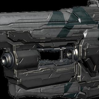 Die Bolzenpistole mit Piston (PST) Skin