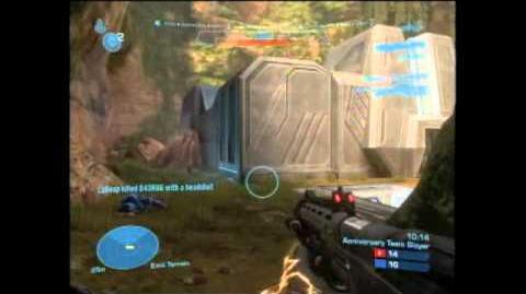 Halo Reach Anniversary Slayer Gameplay on Beaver Creek(W Commentary)