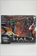 Halo Reach Gauss Cannon Packaging