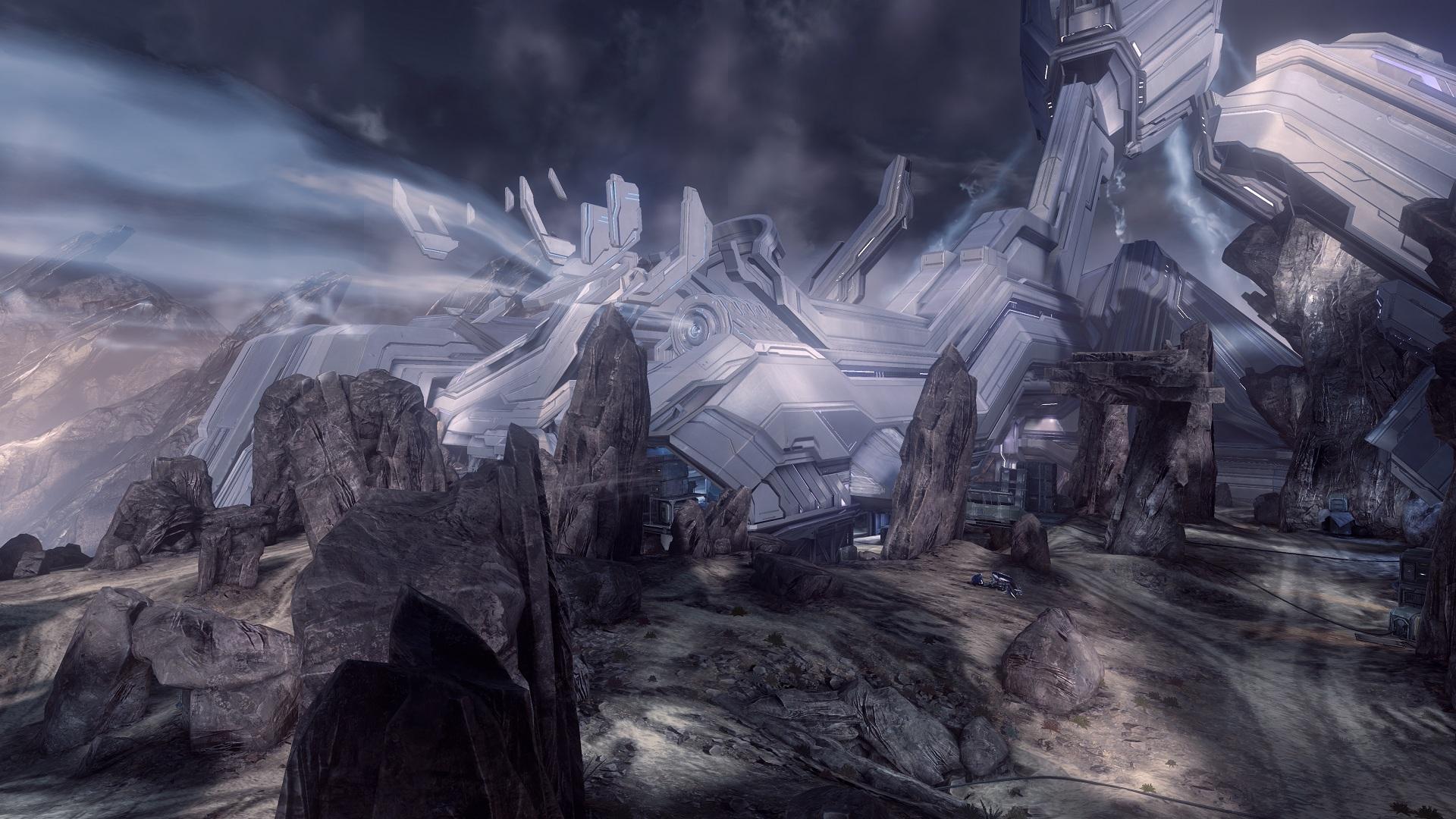 Halo Concept Art Forerunner