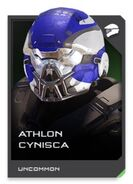 H5G REQ card Athlon Cynisca-Casque