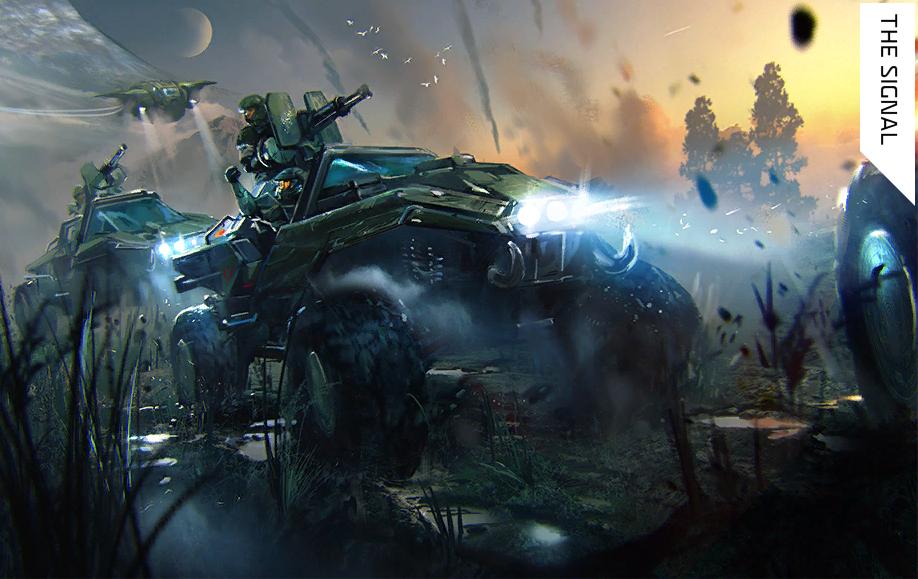 The Signal   Halo Alpha   FANDOM powered by Wikia