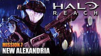 Halo Reach MCC PC Walkthrough - Mission 7 NEW ALEXANDRIA (Sub ITA)