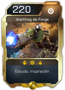 Blitz - UNSC - Sargento Forge - Unidad - Warthog de Forge