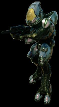 Sangheili Ranger render H5G