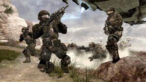 UNSC Marines Halo Reach