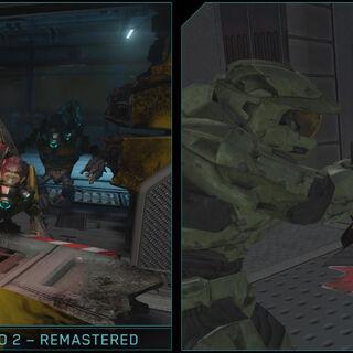 Vergleich von Halo 2 Anniversary zu Halo 2