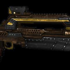 Das Kampfgewehr mit Steam (STM) Skin