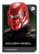 H5G REQ card Soldier Rebel-Casque