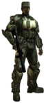 Halo3 ODST Sgt. Johnson