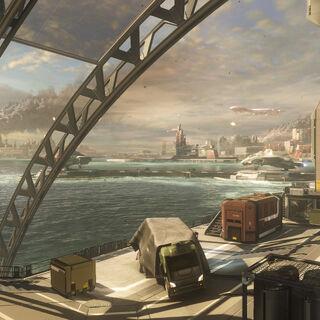 Casbah City während des Angriffes der Allianz