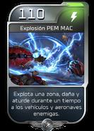 Blitz - UNSC - Sargento Johnson - Poder - Explosión PEM MAC