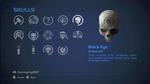 HCEA Black Eye Skull